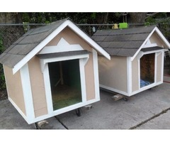 new dog houses for sale 36''x48''- $ 140---36x42 $120 32x40' $100