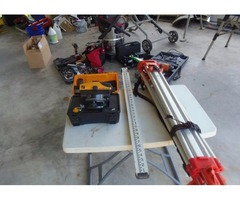 Contractor tool package