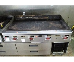 "Wolf 48"" Griddle, Natural Gas"