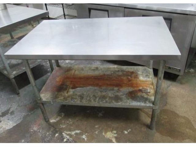 Stainless Steel Worktable 30