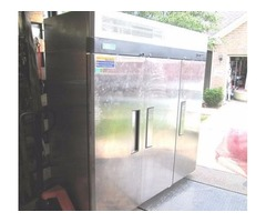 "78"" 3 Section, Solid Door Reach-in Refrigerator"