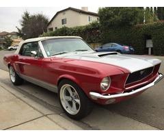 1968 Ford Mustang 1968 Mustang convertible