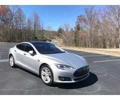 2013 Tesla Model S Tech Pkg Pano Roof