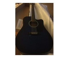 New Electric Acoustic Guitar