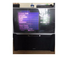 "Free Hitachi 50"" tv works from SMOKE-FREE home"