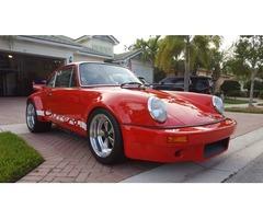 1986 Porsche 911 RSR tribute
