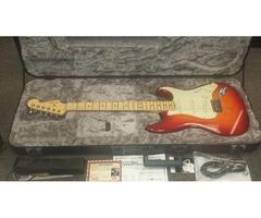 Fender American Elite Stratocaster Guitar + Hardshell Case