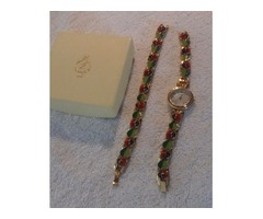 Lenox 2 piece watch and bracelet