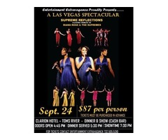 "Diana Ross & The Supremes"" a loving tribute Dinner & Show"