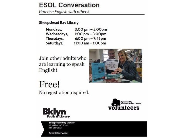 ESOL Conversational Classes