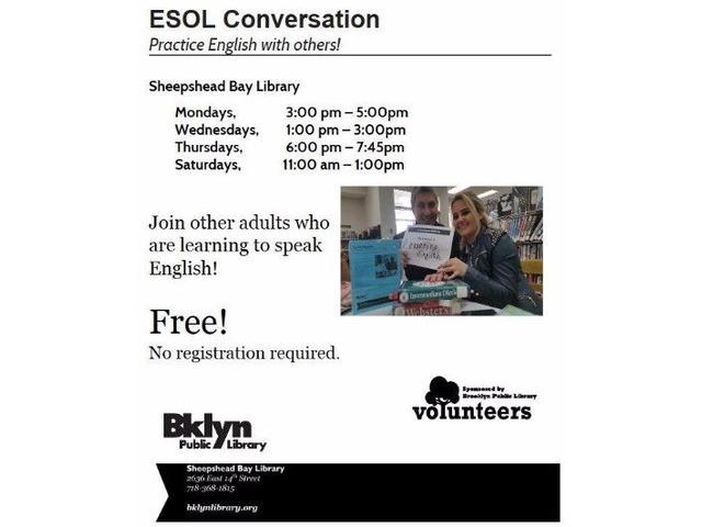 ESOL Conversational Classes