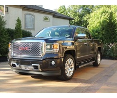 2015 GMC Sierra 1500 Denali Crew Cab 6.2L 8 Speed Borla Exhaust Low Miles