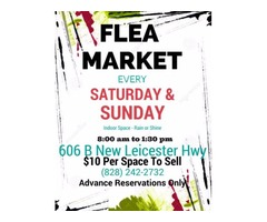 Indoor Flea Market- 606B New Leicester Hwy