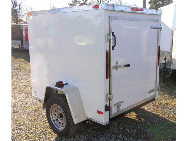 Trailer Wht 5 foot x6 foot with One 2,990 Axle and NO Side Door | free-classifieds-usa.com