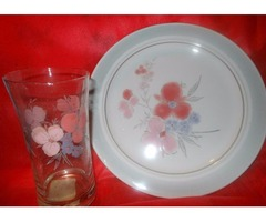 DISHES WITH GLASSES