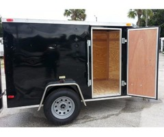 5 x 8 Enclosed Trailers with Double Doors