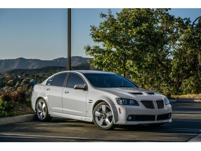 2008 Pontiac G8 Gt Cars Los Angeles California Announcement 70542