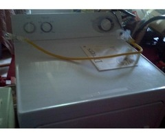 G.E. Gas Dryer with ex. large capacity 4 cycles