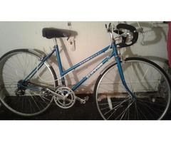 Blue Bike For Sale