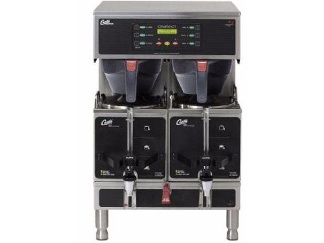 New Wilbur Curtis Gemini Twin Commercial Coffee Brewer, ADS Digital, 1.5 Gal