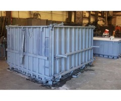Storm Shelter Equipment and Boom Truck