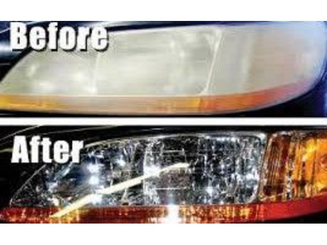 Headlight Restore And Renew With Free Coating Car Parts Oklahoma