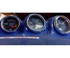 VW special gauges, Garmin, automotive art