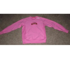 NEW RARE Supreme Box Logo Crewneck Sweatshirt Pink Medium