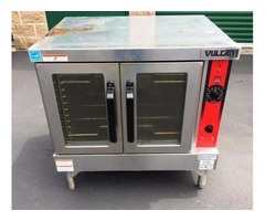Vulcan Convection Oven, Gas, Double Deck