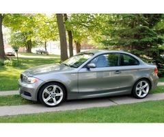 2009 BMW 1-Series 2 door coupe