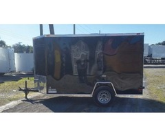 6 x 10 Enclosed Trailers with Side Door