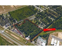 Airport Dev Tract-12.80 Acres-Land For Sale
