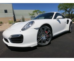 2015 Porsche 911 Turbo Coupe
