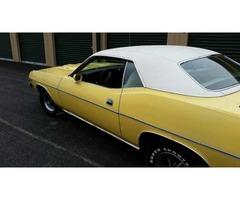 1973 Plymouth Barracuda Cuda