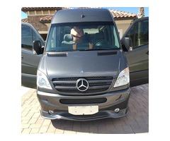 2013 Mercedes-Benz Sprinter 2 dr cab, slider on side, 2 doors back for luggage