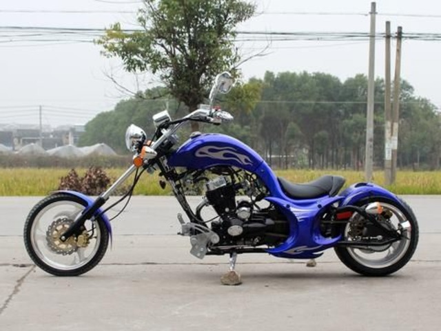 Authentic 2017 VILLAIN CHOPPER 250CC STREET LEGAL   MOTORCYCLE | free-classifieds-usa.com