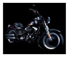 Authentic Black Color Harley Davidson Motorcycle   Bike