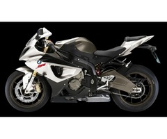 Authentic BMW S1000RR Motorcycle Bike PNG   Transparent