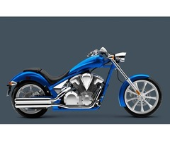 Authentic Blue Honda Fury Motorcycle Bike