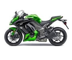 Authentic 2015 Kawasaki Ninja 1000 Metallic   Green/Black Fairings