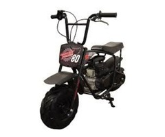 Authentic 79.5cc Youth Mini Bike in Black