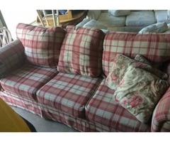 Lightly Used Couch with pull out bed