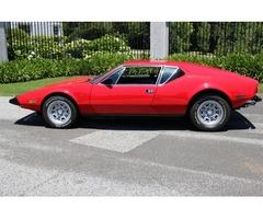 1973 De Tomaso Other Pantera Pre L