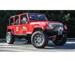 2001 Jeep Wrangler 4-DOOR UNLIMITED