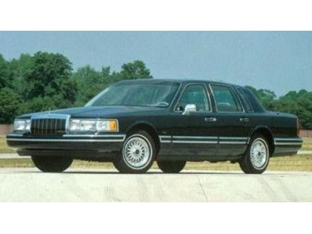 Nice 1991 Lincoln Town Car Runs Great Cars Woodstock