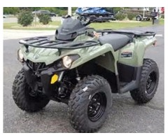 NEW 2017 Can-Am Outlander 450 ATV in Red or Green