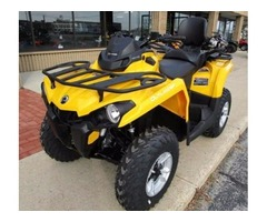New 2017 Can-Am Outlander MAX DPS 570 in Yellow - $7995