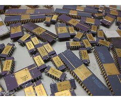 ELECTRONIC SCRAP PARTS FOR GOLD RECOVERY