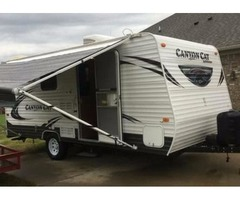 2015 Palomino 17QBC 22'long Canyon Cat Camper