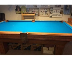 POOL TABLE - AMERICAN HERITAGE plus many accessories